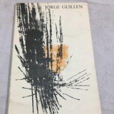 Libros de segunda mano: JORGE GUILLÉN. LAS TENTACIONES DE ANTONIO. SANTANDER 1962. PABLO BELTRÁN DE HEREDIA FIRMA SALUTACIÓN. Lote 204972463