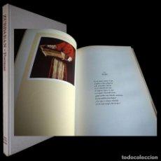 Libros de segunda mano: ZURBARAN.POEMAS. JOSE Mª ALONSO GAMO. 1974.. Lote 205030405