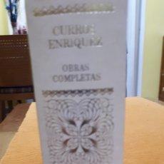 Libros de segunda mano: OBRAS COMPLETAS DE CURROS ENRIQUEZ. Lote 205601677