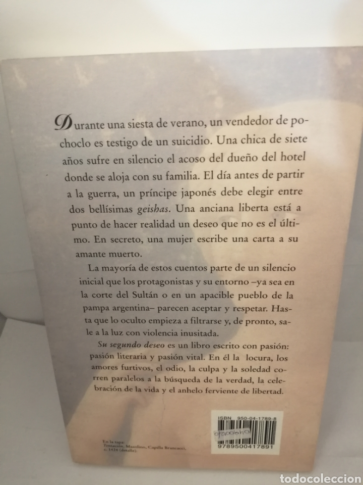 Libros de segunda mano: Su segundo deseo de Inés Legarreta - Foto 2 - 205646595
