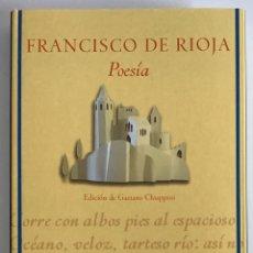 Livros em segunda mão: POESÍA / FRANCISCO DE RIOJA / CLÁSICOS ANDALUCES / FUNDACIÓN JOSÉ MANUEL LARA. Lote 205690293