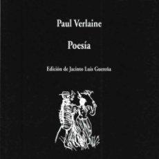 Libros de segunda mano: POESÍA. - VERLAINE, PAUL.. Lote 206512623