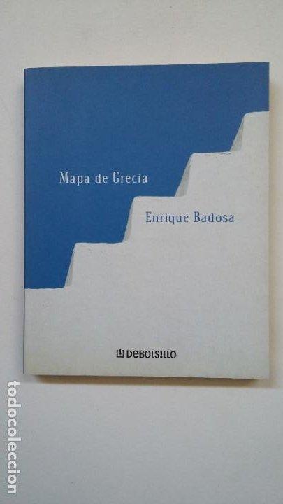 MAPA DE GRECIA. - ENRIQUE BADOSA. COLECCION POESIA. TDK200 (Libros de Segunda Mano (posteriores a 1936) - Literatura - Poesía)