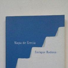 Libros de segunda mano: MAPA DE GRECIA. - ENRIQUE BADOSA. COLECCION POESIA. TDK200. Lote 206968208