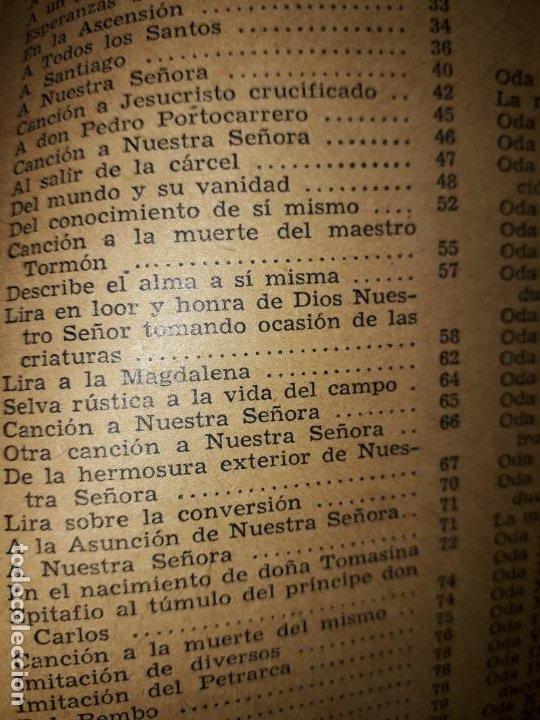 Libros de segunda mano: POESIAS DE FRAY LUIS DE LEON - Foto 3 - 206968655