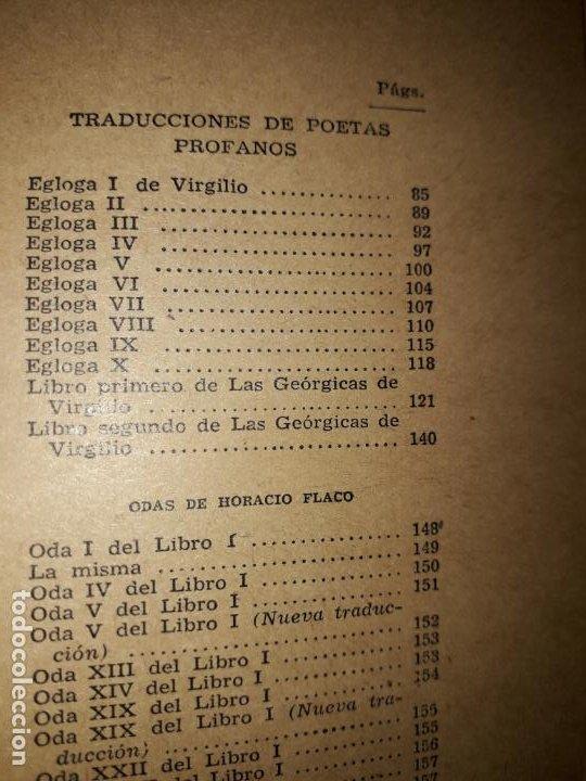 Libros de segunda mano: POESIAS DE FRAY LUIS DE LEON - Foto 5 - 206968655