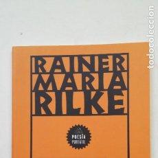 Libros de segunda mano: VERSOS DE UN JOVEN POETA. TRADUCCIÓN DE JOSÉ MARÍA VALVERDE. - RILKE, RAINER MARIA. TDK199. Lote 206971137