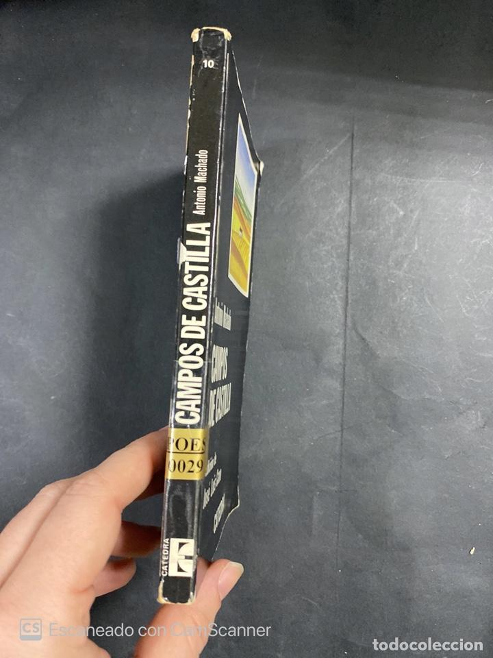 Libros de segunda mano: CAMPOS DE CASTILLA. ANTONIO MACHADO. EDICION DE JOSE LUIS CANO. CATEDRA. MADRID, 1981. PAGS:183 - Foto 2 - 206974590