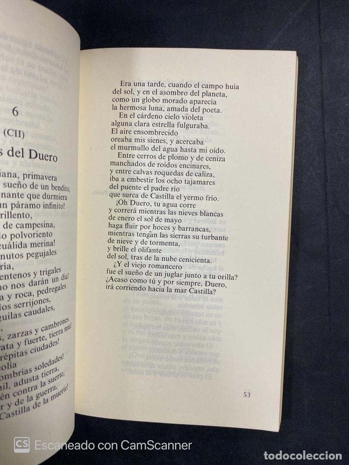 Libros de segunda mano: CAMPOS DE CASTILLA. ANTONIO MACHADO. EDICION DE JOSE LUIS CANO. CATEDRA. MADRID, 1981. PAGS:183 - Foto 4 - 206974590