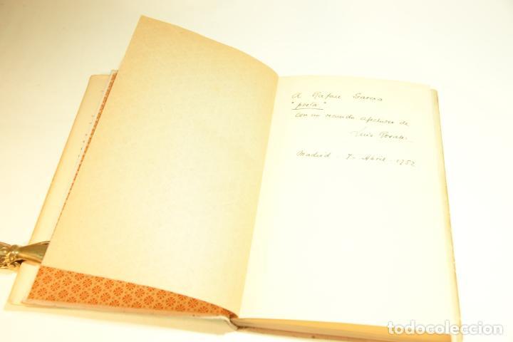 Libros de segunda mano: La casa encendida. Luis Rosales. Con dibujos de José Caballero. 1ª edición firmada y dedicada por el - Foto 3 - 209160522