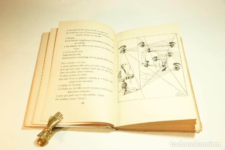Libros de segunda mano: La casa encendida. Luis Rosales. Con dibujos de José Caballero. 1ª edición firmada y dedicada por el - Foto 5 - 209160522