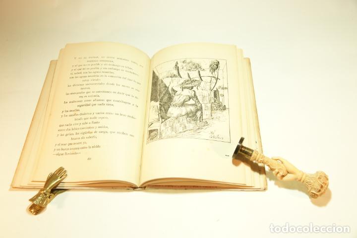 Libros de segunda mano: La casa encendida. Luis Rosales. Con dibujos de José Caballero. 1ª edición firmada y dedicada por el - Foto 6 - 209160522