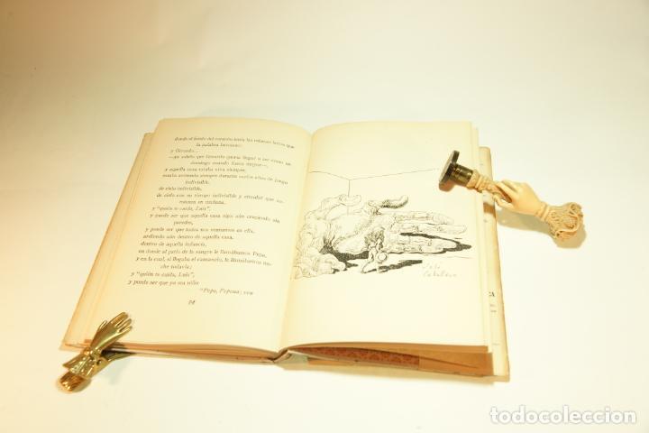 Libros de segunda mano: La casa encendida. Luis Rosales. Con dibujos de José Caballero. 1ª edición firmada y dedicada por el - Foto 8 - 209160522