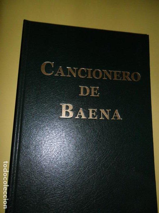 CANCIONERO DE BAENA, MANUSCRITO ESP. 37 DE LA BIBLIOTHEQUE NATIONALE DE FRANCE, BAENA, 2015 (Libros de Segunda Mano (posteriores a 1936) - Literatura - Poesía)