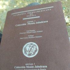 Libros de segunda mano: ANTOLOGÍA COLECCIÓN MONTE JABAL CUZA ACADEMIA IBEROAMERICANA DE POESIA CAPÍTULO DE MÁLAGA 2005. Lote 210102003
