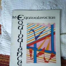 Libros de segunda mano: EQUIVALENCIAS 16 REVISTA INTERNACIONAL DE POESÍA. Lote 210593257