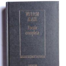 Libros de segunda mano: POESÍA COMPLETA.. Lote 210738742