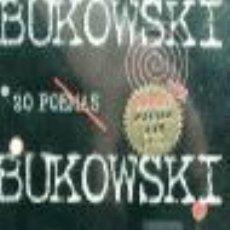 Libros de segunda mano: BUKOWSKI: 20 POEMAS. - BUKOWSKI, CHARLES.. Lote 210750801