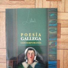 Libros de segunda mano: LITORAL - POESÍA GALLEGA CONTEMPORÁNEA. Lote 210937196