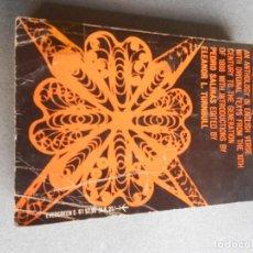 Libros de segunda mano: TEN CENTURIES OF SPANISH POETRY. Lote 210945041