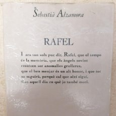 Libros de segunda mano: RAFEL - SEBASTIÀ ALZAMORA - EDICIONS 62 - 1994. Lote 211836832