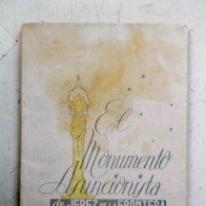 Libros de segunda mano: 1952 JEREZ DE LA FRONTERA EL MONUMENTO ASUNCIONISTA. Lote 211995612