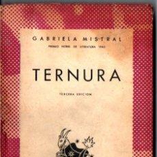 Libros de segunda mano: AUSTRAL Nº 503 : GABRIELA MISTRAL - TERNURA (1946). Lote 212720375