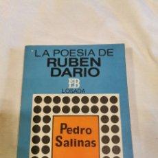 Libros de segunda mano: LA POESÍA DE RUBÉN DARÍO PEDRO SALINAS. Lote 213103630