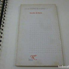 Libros de segunda mano: OBRA DE EUGENIO DE ANDRADE /17 - ESCRITA DA TERRA - LIMIAR - N 9. Lote 213146041