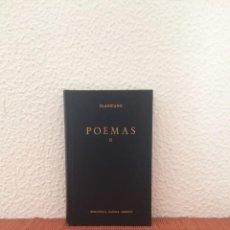Libros de segunda mano: POEMAS II - CLAUDIANO - GREDOS. Lote 213661158