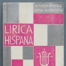 Libros de segunda mano: HORARIO DE VIGILIA. AYMARA. LIRICA HISPANA 210. Lote 213662261