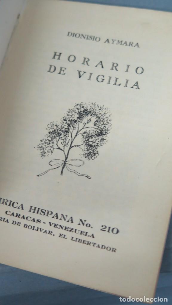 Libros de segunda mano: HORARIO DE VIGILIA. AYMARA. LIRICA HISPANA 210 - Foto 2 - 213662261