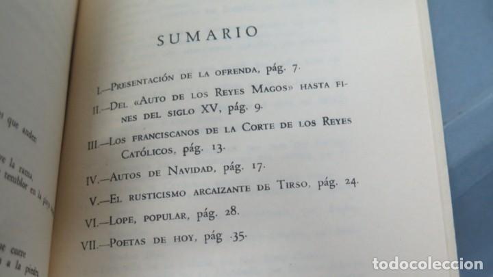 Libros de segunda mano: LA NAVIDAD EN LA POESÍA ESPAÑOLA. GERARDO DIEGO - Foto 2 - 213662791