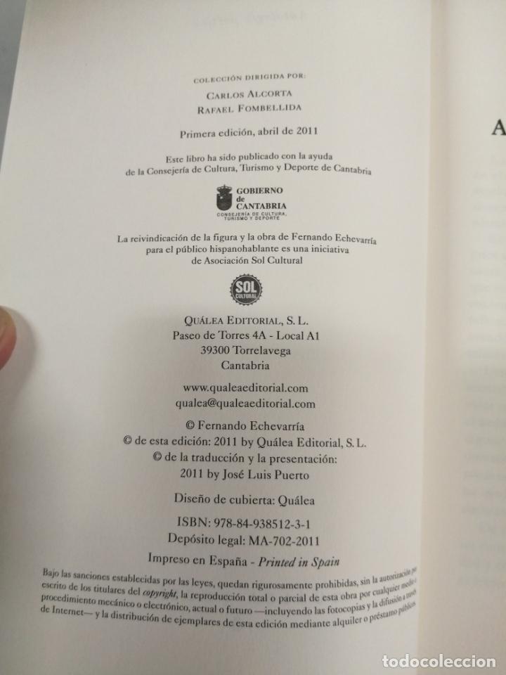 Libros de segunda mano: ANTOLOGÍA POÉTICA. FERNANDO ECHEVARRÍA. - Foto 2 - 214305535