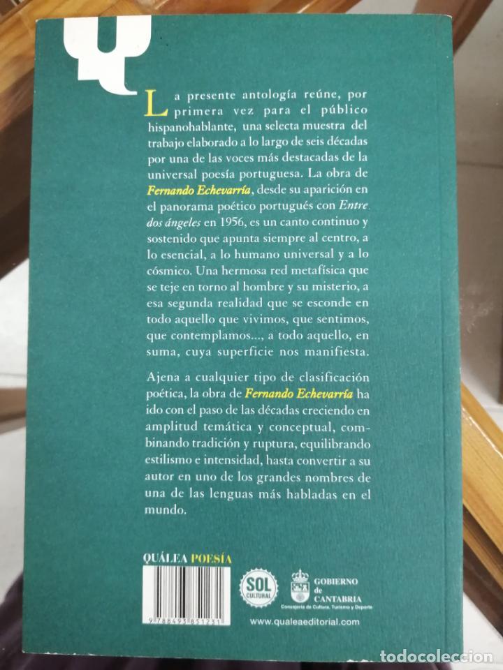 Libros de segunda mano: ANTOLOGÍA POÉTICA. FERNANDO ECHEVARRÍA. - Foto 4 - 214305535