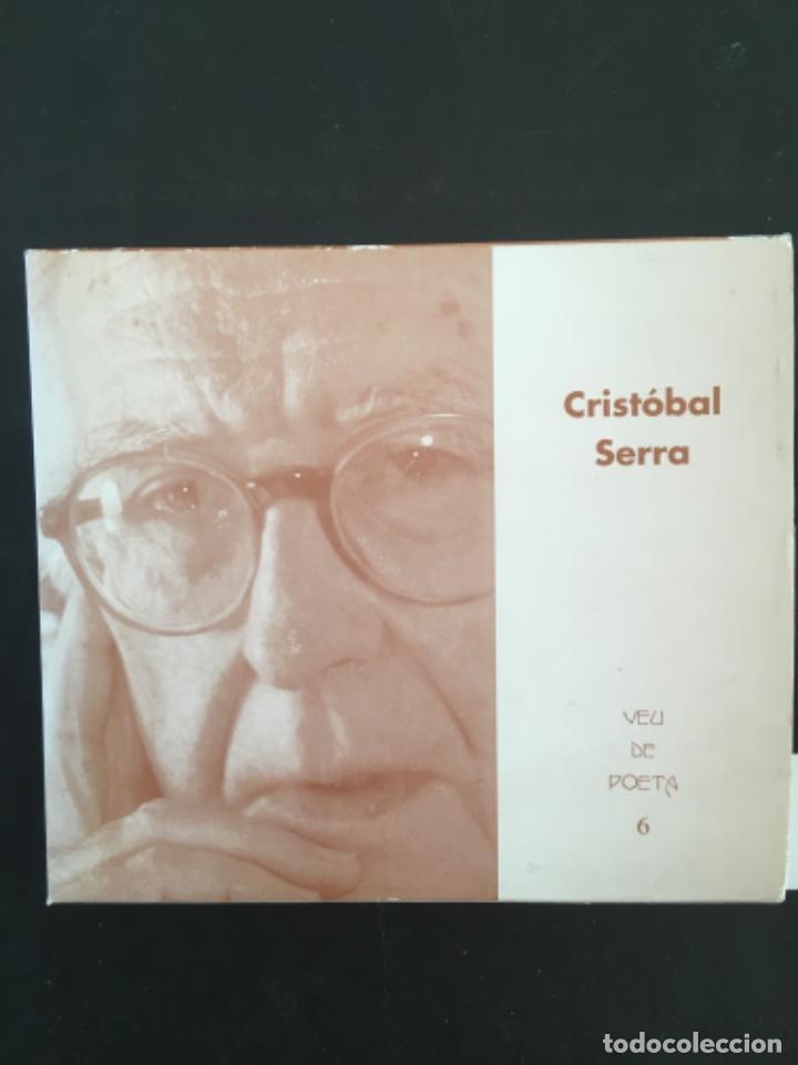 POEMAS PENDULOS, CRISTOBAL SERRA, TRILINGUE CON CD (Libros de Segunda Mano (posteriores a 1936) - Literatura - Poesía)