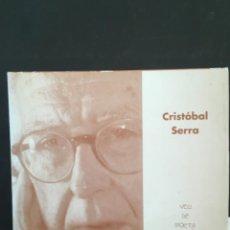 Libros de segunda mano: POEMAS PENDULOS, CRISTOBAL SERRA, TRILINGUE CON CD. Lote 214361898