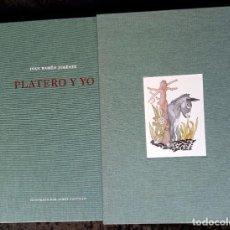 Libros de segunda mano: PLATERO Y YO - JUAN RAMON JIMENEZ - ILUSTRADO COLOR POR JORGE CASTILLO - TAPA DURA. Lote 217637308