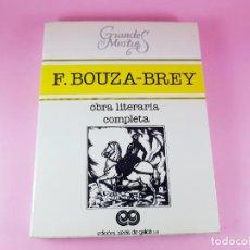 Libros de segunda mano: LIBRO-FERMÍN BOUZA BREY-GRANDES MESTRES-OBRA LITERARIA COMPLETA-1981-COMO NUEVO-VER FOTOS.. Lote 217949393
