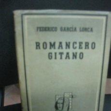 Libros de segunda mano: FEDERICO GARCIA LORCA. ROMANCERO GITANO. EDITORIAL LOSADA.1949. Lote 218187575