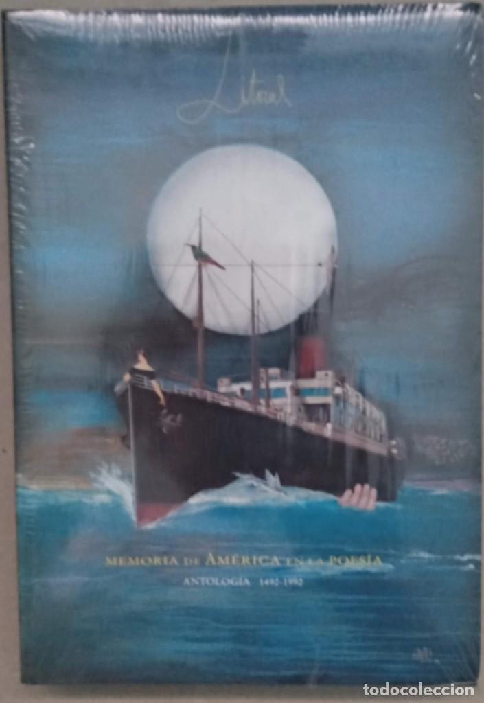 REVISTA LITORAL - MEMORIA AMERICA EN LA POESIA - Nº 195 196 - ANTOLOGÍA 1492-1992 . PRECINTADO (Libros de Segunda Mano (posteriores a 1936) - Literatura - Poesía)