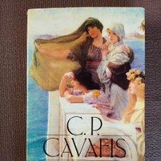 Libros de segunda mano: POESÍA COMPLETA. CAVAFIS. ALIANZA TRES.. Lote 218498428