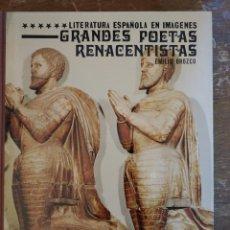 Libros de segunda mano: LITERATURA ESPAÑOLA EN IMAGENES GRANDES POETAS RENANCENTISTA PYMY 39. Lote 219086167