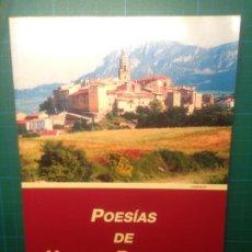 Libros de segunda mano: POESIAS DE URBANO REQUIBATIZ. Lote 220121157