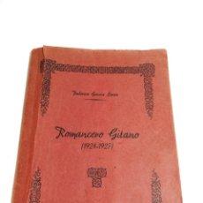 Libros de segunda mano: ROMANCERO GITANO ( 1924-1927) FEDERICO GARCÍA LORCA. EJEMPLAR MECANOGRAFIADO. LAS PALMAS. 1945.. Lote 220126810
