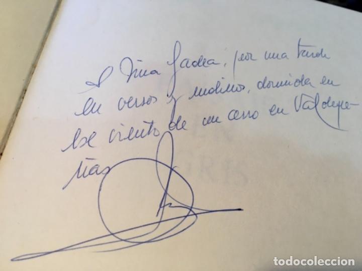 Libros de segunda mano: PAISAJE EN GRIS con escrito autor en Valdepeñas - Foto 3 - 221807493