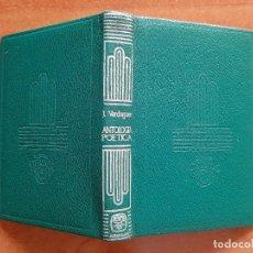 Libros de segunda mano: 1960 ANTOLOGÍA POÉTICA - JACINTO VERDAGUER / CRISOL AGUILAR Nº 87. Lote 221992238