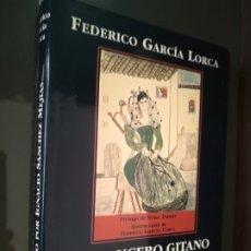 Libros de segunda mano: FEDERICO GARCÍA LORCA- ROMANCERO GITANO POETA EN NUEVA YORK LLANTO POR IGNACI.1A EDICIÓN.LIBRUM 1995. Lote 222464826