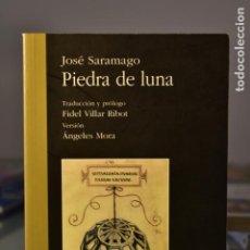 Libros de segunda mano: PIEDRA DE LUNA- JOSÉ SARAMAGO- EDITORIAL COMARES. Lote 222504605