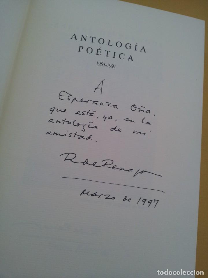Libros de segunda mano: RAFAEL DE PENAGOS - ANTOLOGIA POETICA 1953-1991 - UNION EDITORIAL 1992 - DEDICADO POR EL AUTOR - Foto 3 - 222555262